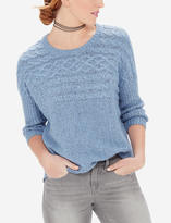 The Limited Textured Dolman Sweater