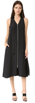 Edun Silk Neck Tie Dress