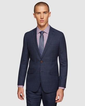 Oxford New Hopkins Wool Checked Suit Set
