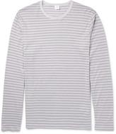 Sunspel - Striped Cotton-jersey T-shirt