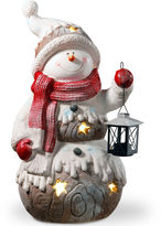 National Tree Co 21i Lighted Snowman Dcor Piece