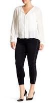 Melissa McCarthy Side Studded Pencil Jean (Plus Size)