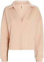 Thumbnail for your product : Lanston Cotton Terry Polo Sweatshirt