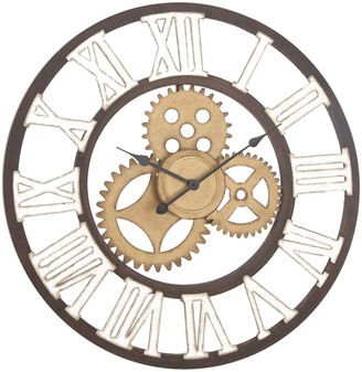 Uma Enterprises Metal Wall Clock