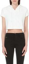 Calvin Klein White series cotton hoody
