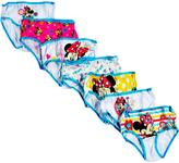 Disney Minnie Mouse Girls Briefs - 7 Pack