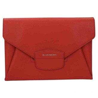 Givenchy Nightingale Red Patent leather Clutch bags