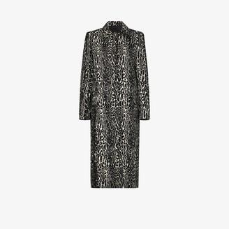 Commission Snow Leopard Jacquard Coat