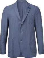 Lardini striped blazer - men - Cotton - 44