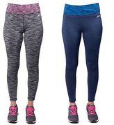 Slazenger Ladies Full Length Sportswear legging Fitness Womens Activewear 8-16