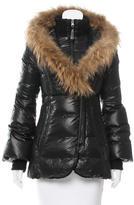 Mackage Fur-Trimmed Down Coat