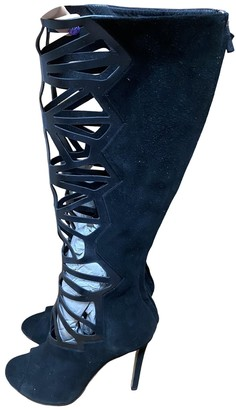 Alejandro Ingelmo Black Cloth Boots