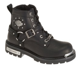 Harley-Davidson Women's Becky Motorcycle Lug Sole Boot Women's Shoes