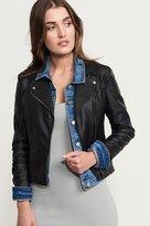 Dynamite Faux Leather Moto Jacket