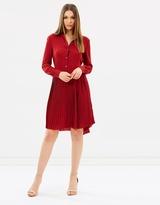 Karen Millen Drop Waist Shirt Dress