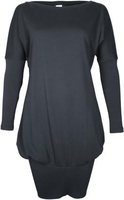 Format POKE Black Interlock Dress - XS - Black