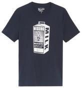 Original Penguin Men's Missing Pete Milk Carton T-Shirt