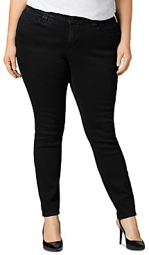 Jag Jeans Cecilia Skinny Jeans in Black Void