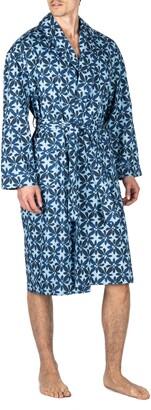 Majestic International Shanti Chambray Cotton Robe