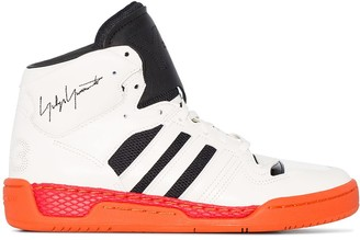 Y-3 Hayworth 3-Stripe High Top Sneakers