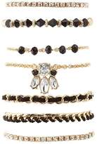 Charlotte Russe Beaded & Embellished Layering Bracelets - 7 Pack