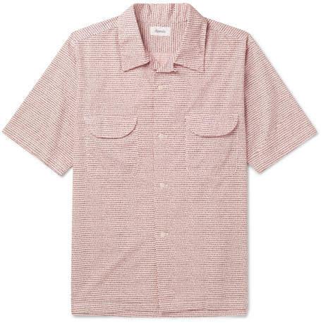 Chimala Printed Cotton-Poplin Shirt