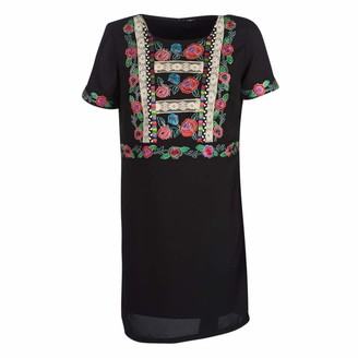 Desigual Women's Vest_Tralee Dress Negro