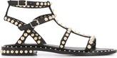 Ash Precious stud-embellished leather sandals