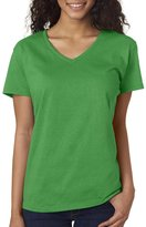 Gildan Heavy Cotton Ladies' V-Neck T-Shirt3XL 5V00L