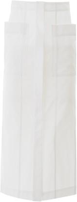 Jacquemus Pocket Detail Midi Skirt