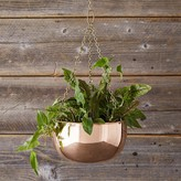 Williams-Sonoma Williams Sonoma Hanging Copper Planter