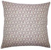 Hakeem Geometric Floor Pillow Brayden Studio Color: Blueberry