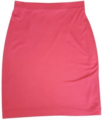 Fendi Pink Silk Skirt for Women Vintage