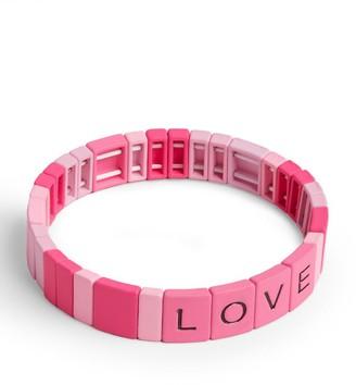 Bari Lynn Love Stretch Friendship Bracelet
