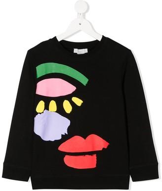 Stella McCartney Face Print Sweatshirt