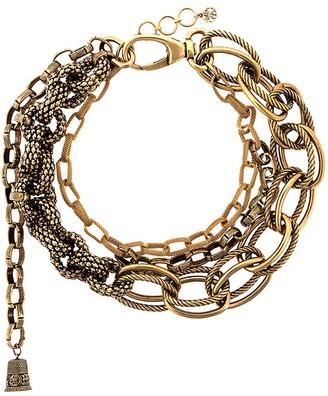 Alexander McQueen Multi-Chain Necklace