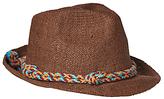 Scotch & Soda Classic Two Tone Straw Hat, One Size, Sand
