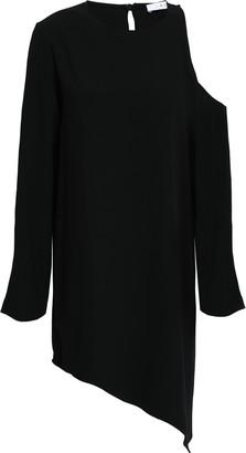 IRO Awati Asymmetric Cutout Crepe Mini Dress