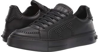 Salvatore Ferragamo Tristan Sneaker (Black) Men's Shoes