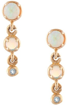Sarah & Sebastian 10kt Gold Draped Earrings