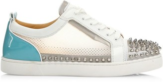 Christian Louboutin Sosoxy Junior Spikes High-Top Sneakers
