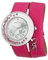 Laura Ashley Women's LA31008PK Analog Display Japanese Quartz Pink Watch