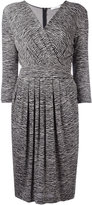 Max Mara zebra print dress - women - Polyamide/Spandex/Elastane/Viscose - 46