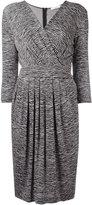 Max Mara zebra print dress - women - Viscose/Polyamide/Spandex/Elastane - 42