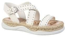 Sam Edelman Janette Studded Leather Espadrille Sandals