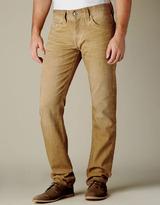 True Religion MENS COLD PRESS GENO JEAN - Slim Leg (Mustard)