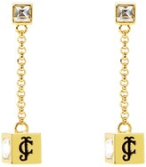 Juicy Couture Iconic Cubes Drop Earrings
