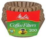 Melitta Natural Brown Coffee Filters 200-ct.