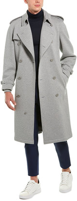Burberry Jersey Long Trench Coat