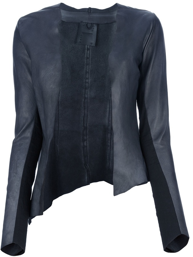10 Sei 0 Otto leather cardigan